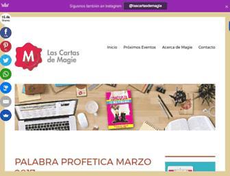 lascartasdemagie.com screenshot