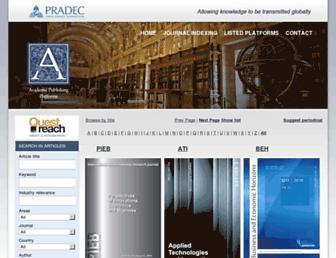 academicpublishingplatforms.com screenshot