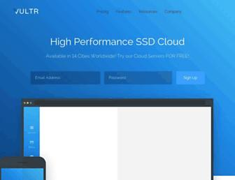 Thumbshot of Vultr.com