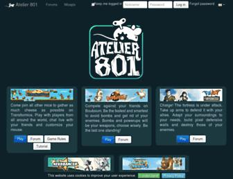 atelier801.com screenshot