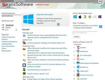 gratissoftwaresite.nl screenshot