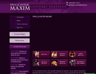 spellshelp.com screenshot