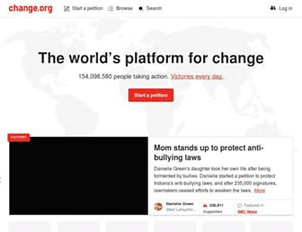 Thumbshot of Change.org
