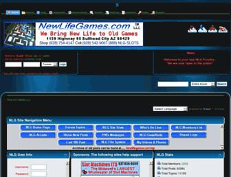 newlifegames.net screenshot