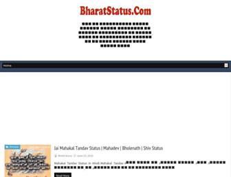 bharatstatus.com screenshot