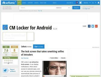 cm-locker.en.softonic.com screenshot