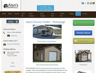 Thumbshot of Alansfactoryoutlet.com