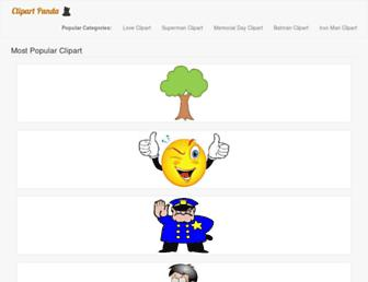 clipartpanda.com screenshot