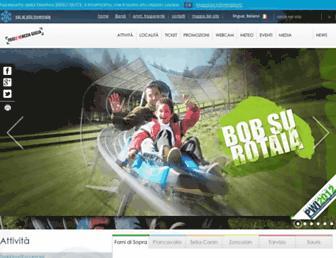 Main page screenshot of promotur.org