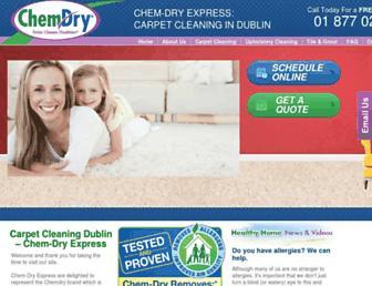 Thumbshot of Chemdryexpress.ie