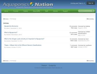 aquaponicsnation.com screenshot