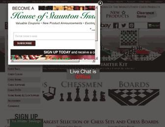 houseofstaunton.com screenshot