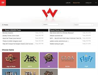forum.webzen.com screenshot