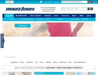 Thumbshot of Mikesbikes.com