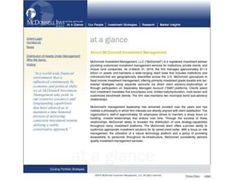 mcdonnellinvestments.com screenshot