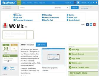 wo-mic.en.softonic.com screenshot