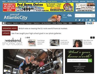 pressofatlanticcity.com screenshot