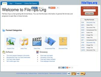 filetips.org screenshot