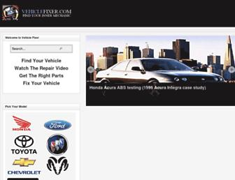 vehiclefixer.com screenshot