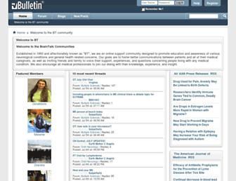 braintalkcommunities.org screenshot