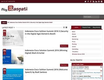 blog.raspati.com screenshot
