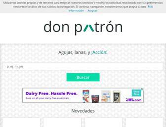 donpatron.es screenshot