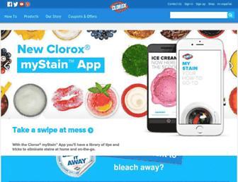 Thumbshot of Clorox.com