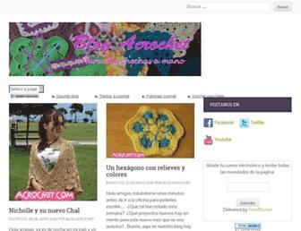 blog.acrochet.com screenshot