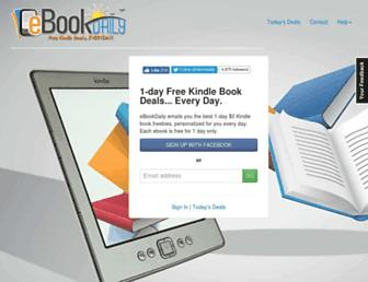 Thumbshot of Ebookdaily.com