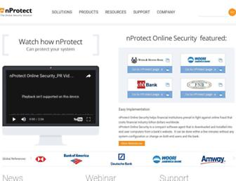 nos.nprotect.com screenshot