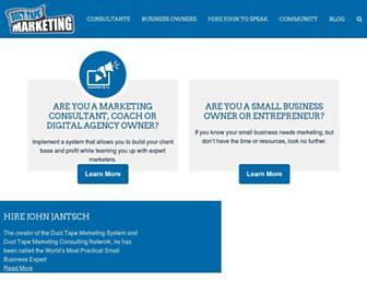 ducttapemarketing.com screenshot