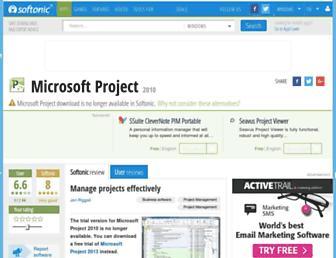 microsoft-project-2010.en.softonic.com screenshot
