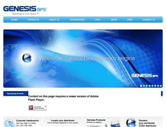 genesisbps.com screenshot