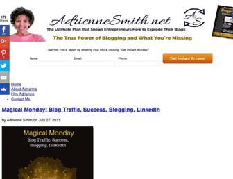 Thumbshot of Adriennesmith.net