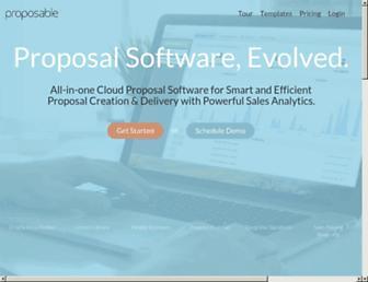 proposable.com screenshot