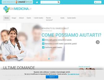 Thumbshot of Okmedicina.it