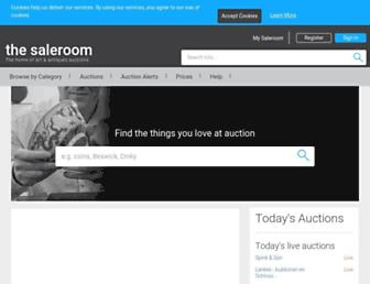 Thumbshot of The-saleroom.com