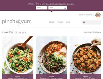Thumbshot of Pinchofyum.com