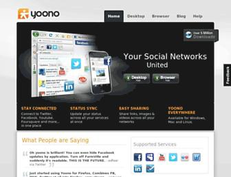 Thumbshot of Yoono.com