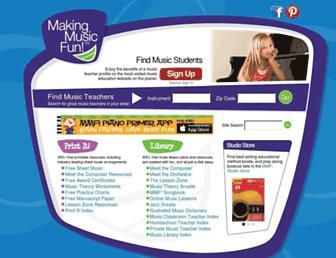 makingmusicfun.net screenshot