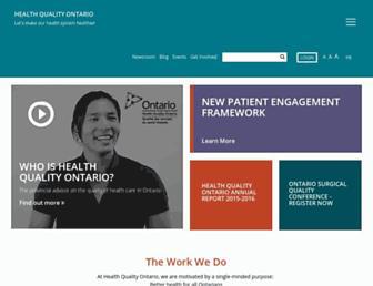 hqontario.ca screenshot