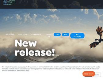info.e-onsoftware.com screenshot