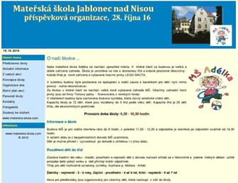 28rijna.materska-skola.com screenshot