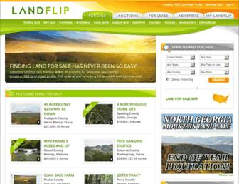 landflip.com screenshot