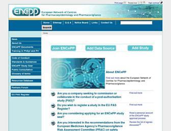 encepp.eu screenshot