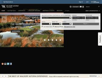 waldorfastoria3.hilton.com screenshot