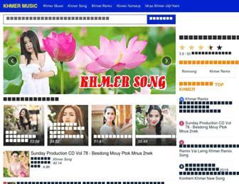 khmersongs.net screenshot