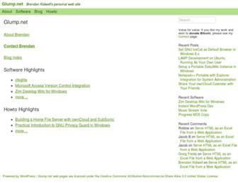 glump.net screenshot