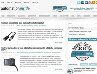 automationinside.com screenshot