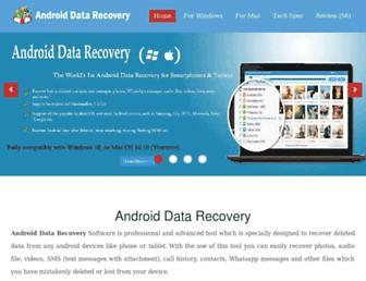 androiddata-recovery.com screenshot